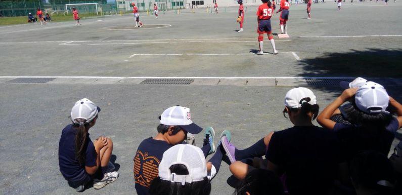 OG在籍中学校対決の練習試合