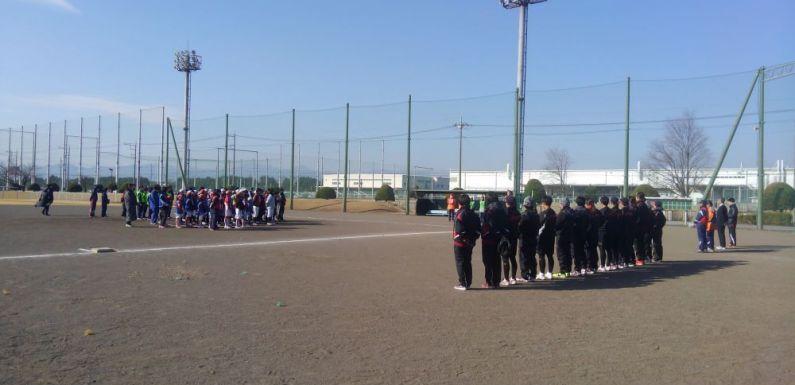 玉村町ソフトボール教室に参加しました