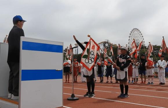 2019年度伊勢崎市スポーツ少年団総合開会式