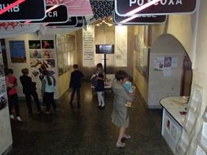 チェルノブイリ博物館での課外学習