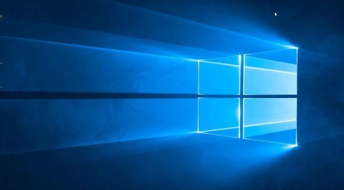 Windows8.1からWindows10にアップグレードしてみた