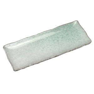 Aoyu Green Long Plate