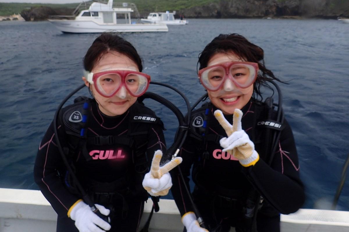 下地島方面へボート体験ダイビング