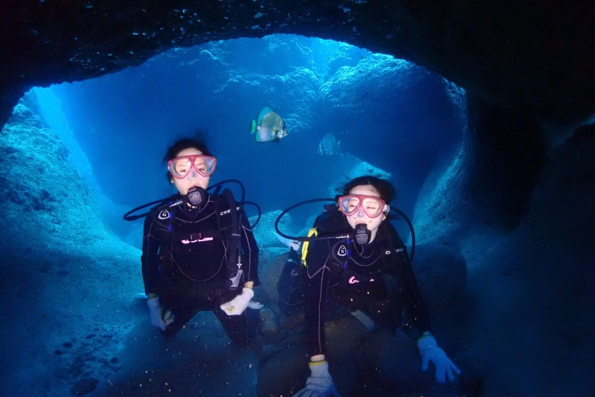 オール体験ダイブのゲストで伊良部島へ