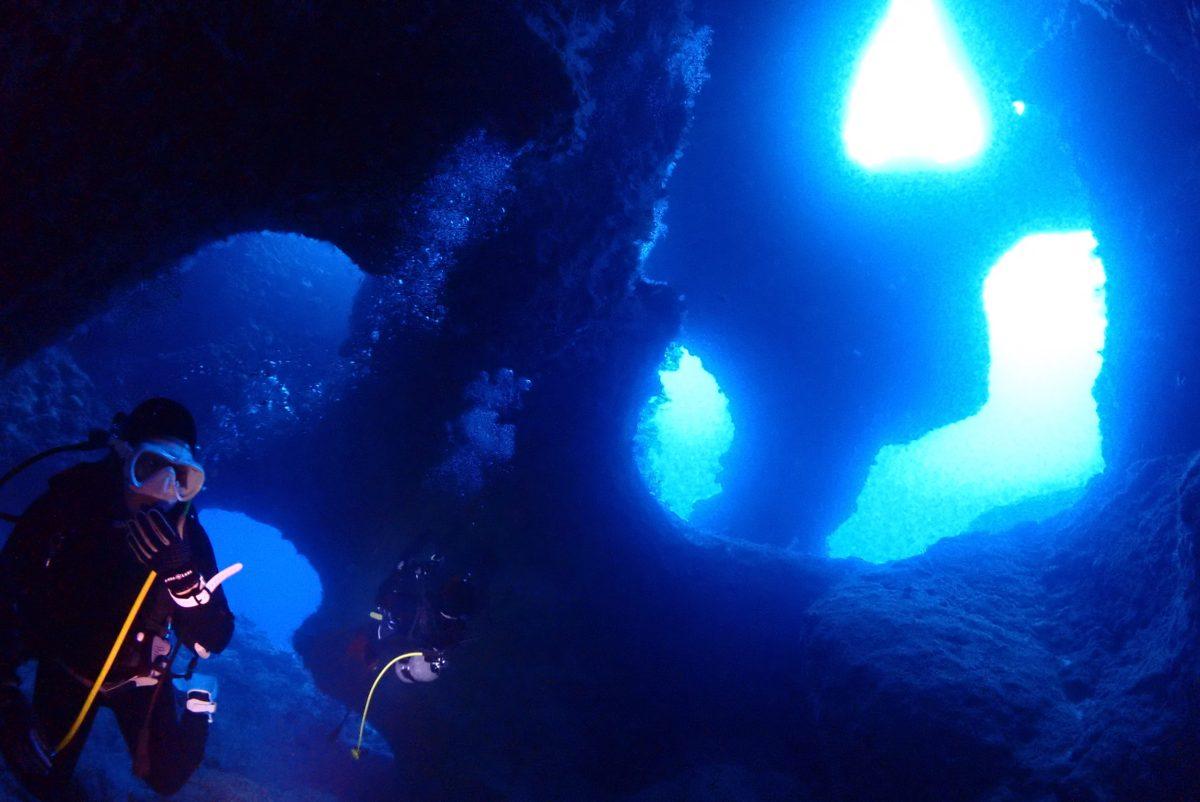2021年の初潜りは下地で3ダイブ