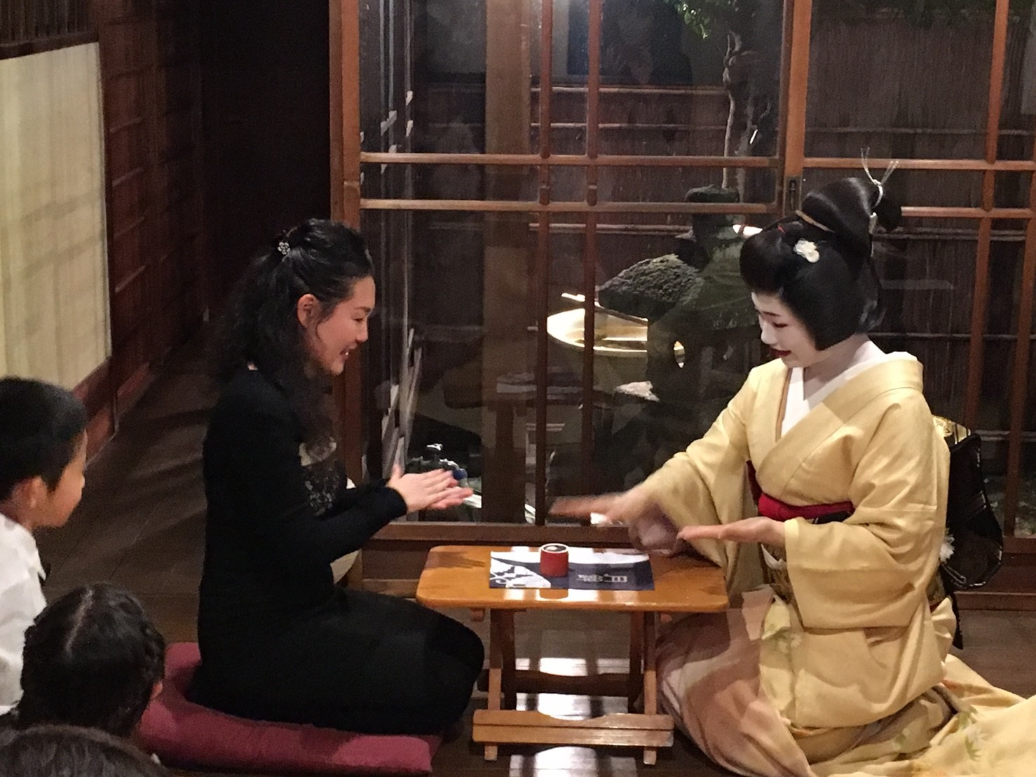 【end】【Nov. 28th】Geisha Dinner at Machiya house
