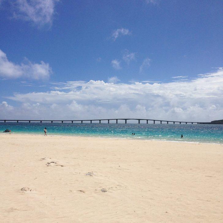 伊良部大橋と前浜ビーチ