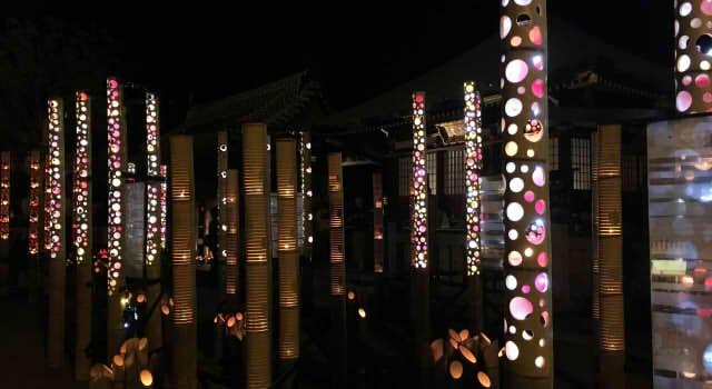 2016年うすき竹宵の日程と点灯時間!駐車場はどうなる?【第20回】