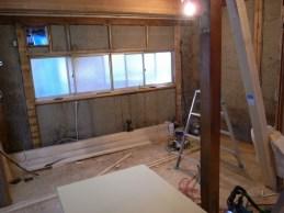 狭く区切られてた壁も撤去。