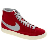 Nike Blazer mid red high top sneaker