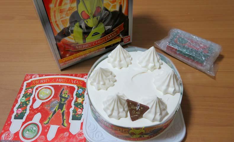 ゼロワンケーキ付属品を並べてみました