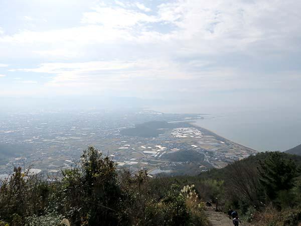 天空の鳥居「高屋神社」鳥居からの景色