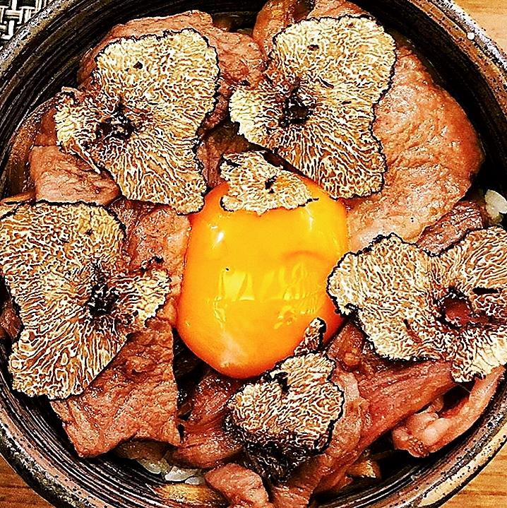Truffle Gyu Don - Japanese Beef Rice Bowl