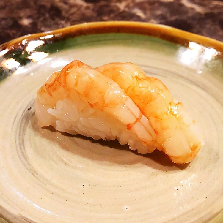 Ebi sushi - Prawn Sushi at Miyu