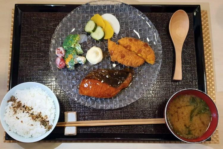 Salmon Butter Yaki Bento by Miyu Japanese Restaurant for Lunch at Duxton Road