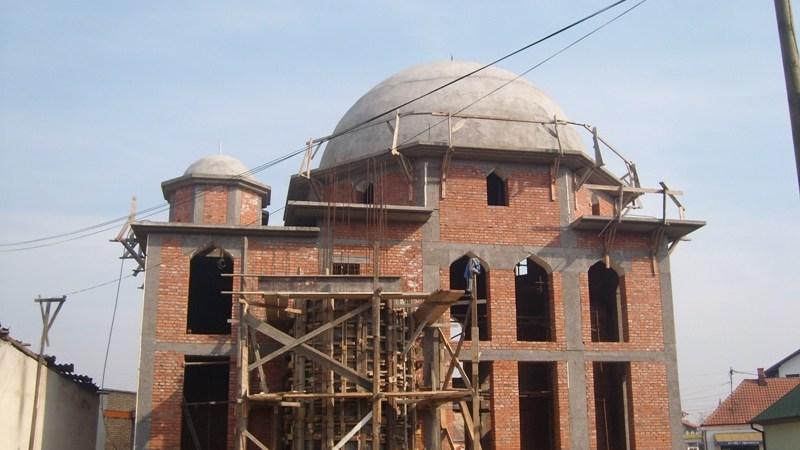 Početak gradnje minareta Dašnica džamije
