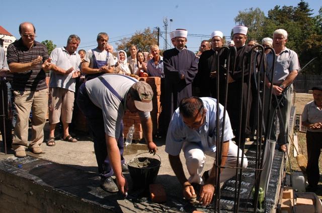 Nastavak obnove Krpić džamije u Bijeljini