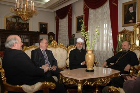 Muftija i Vladika na sastanku u Bijeljini