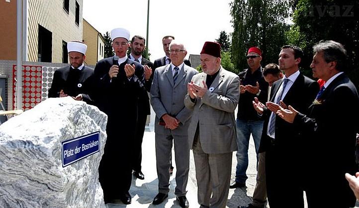 U Welsu svečano otvoren Trg Bošnjaka