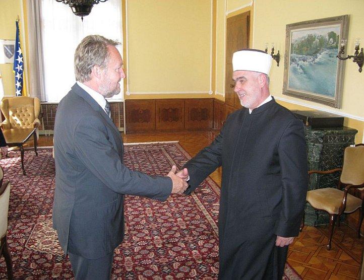 Reisu-l-ulema posjetio bošnjačkog člana Predsjedništva BiH