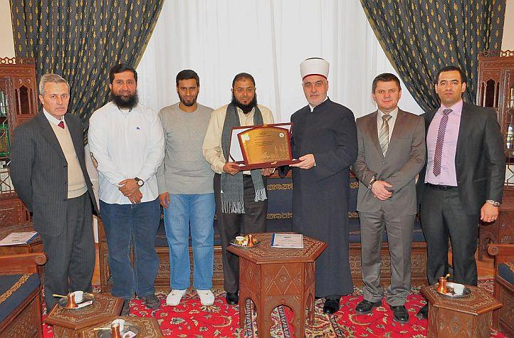 """Reisu-l-ulema primio predstavnike Fondacije """"Afirmacija islamske baštine"""" iz Kuvajta"""