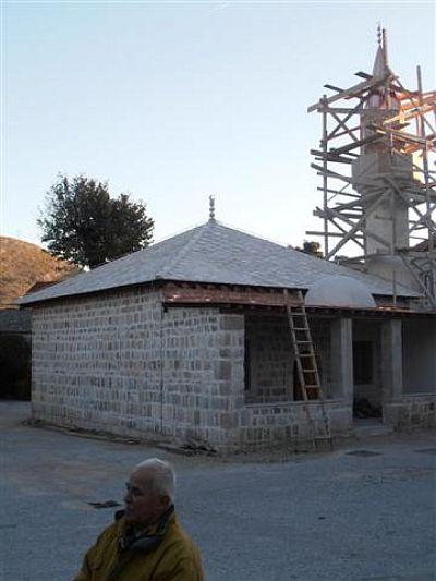Mustafina suza na alemu Sultan Ahmedove džamije u Trebinju