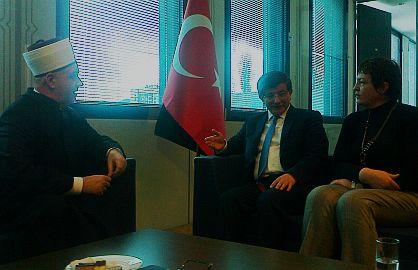 Reisu-l-ulema razgovarao s ministrom vanjskih poslova Turske