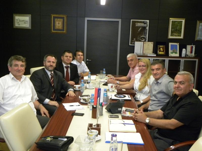 Delegacija Vakufske direkcije u Geodetskoj upravi RS