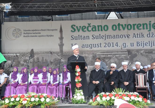 Bijeljina: svečano otvorena obnovljena Sultan Sulejmanova Atik džamija