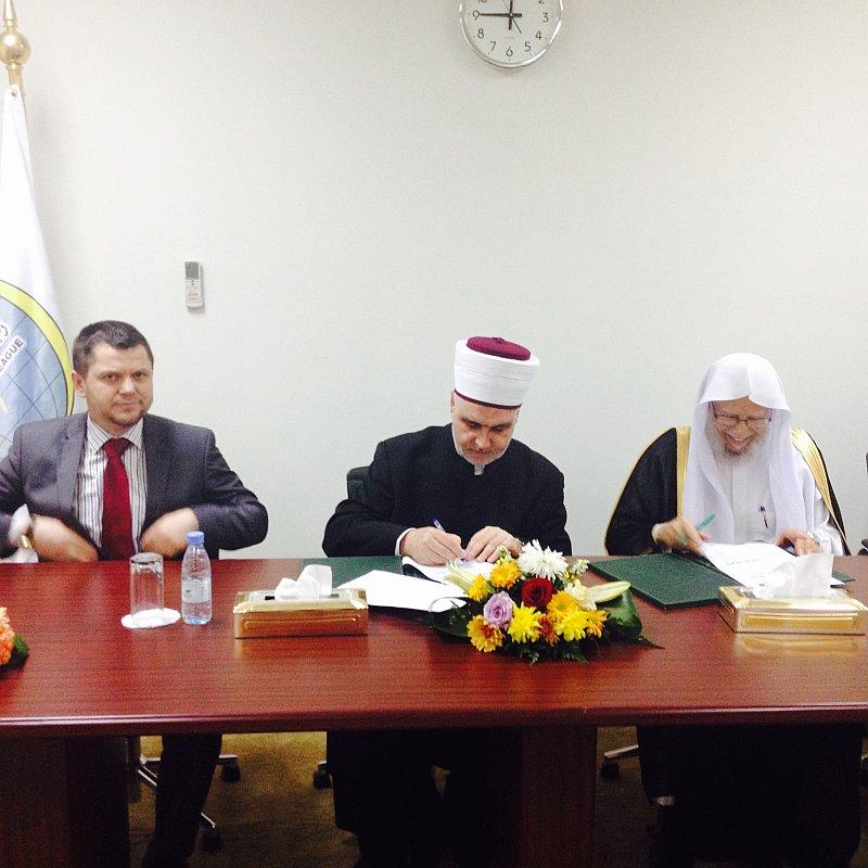 U Mekki potpisan sporazum o saradnji između Rabite i Islamske zajednice
