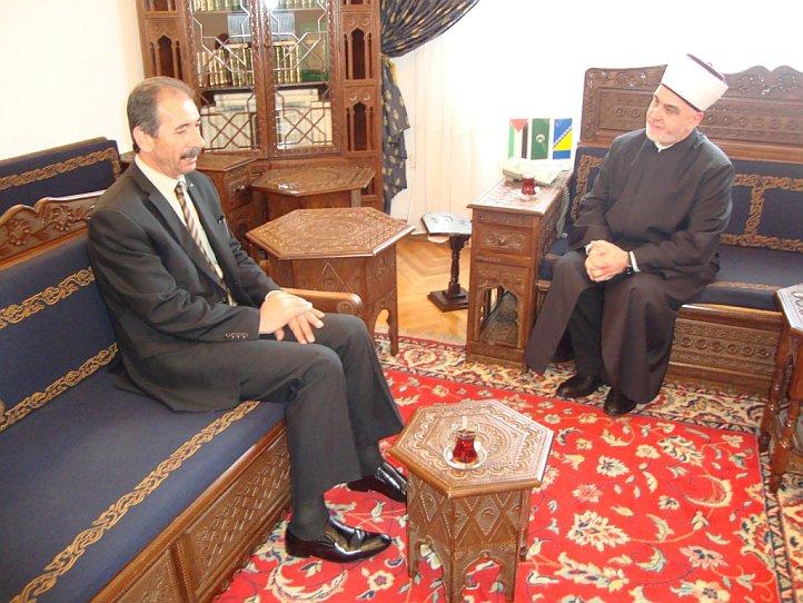 Ambasador Palestine kod Reisu-l-uleme