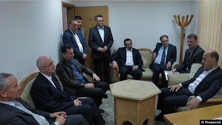 Delegacija Islamske zajednice u Zvorniku