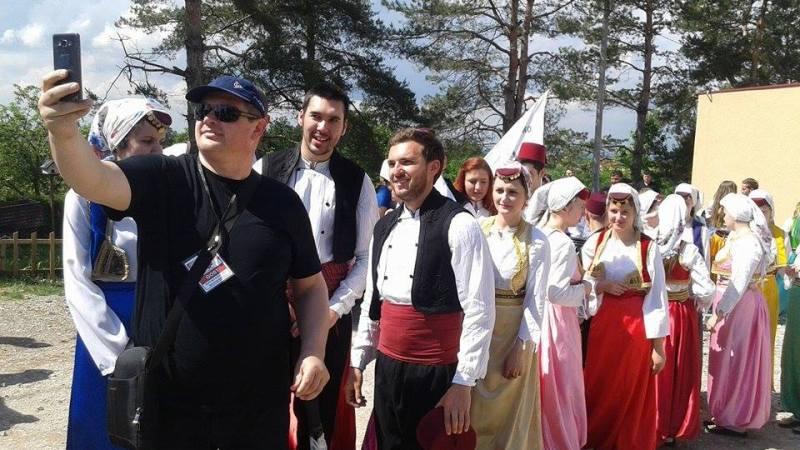 Nastup Folklorne sekcije Mektebskog centra Bijeljina u Šatorovićima