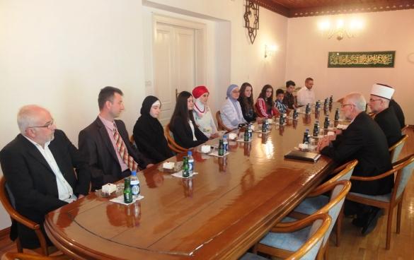 Susret sa pobjednicima mektebskog i vjeronaučnog takmičenja