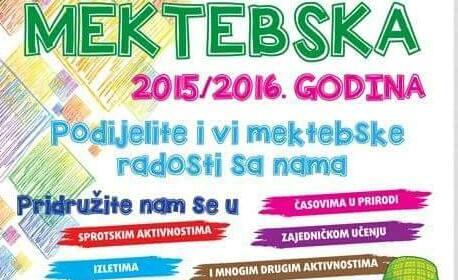 MEKTEBSKA 2015/2016 GODINA