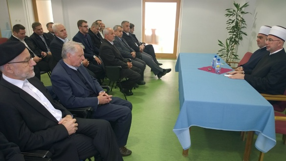 Susret reisu-l-uleme Kavazovića sa članovima Savjeta muftije tuzlanskog
