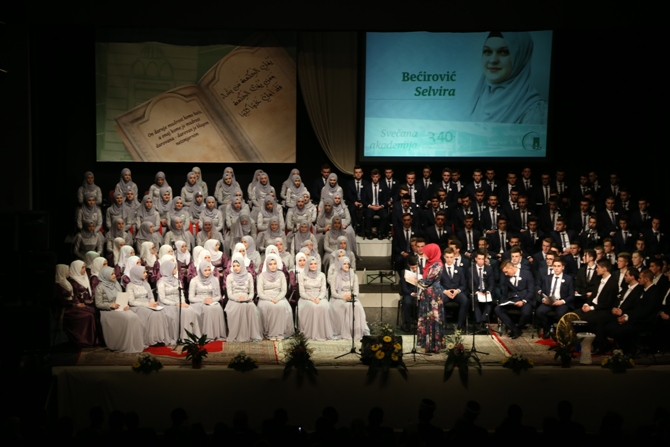 Svečana akademija 340. generacije Behram-begove medrese