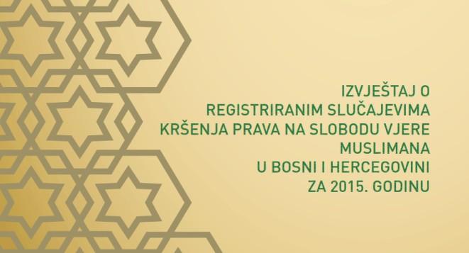 Komisija za slobodu vjere zaprimila 39 prijava kršenja prava muslimana u BiH