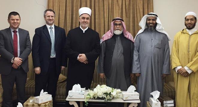 Delegacija Islamske zajednice u zvaničnoj posjeti kuvajtskim institucijama