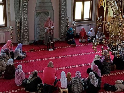 Posjeta profesorica iz Behram-begove medrese Medžlisu Islamske zajednice Bijeljina