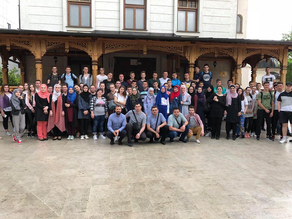 Mreža mladih Ilijaš u posjeti Bijeljini