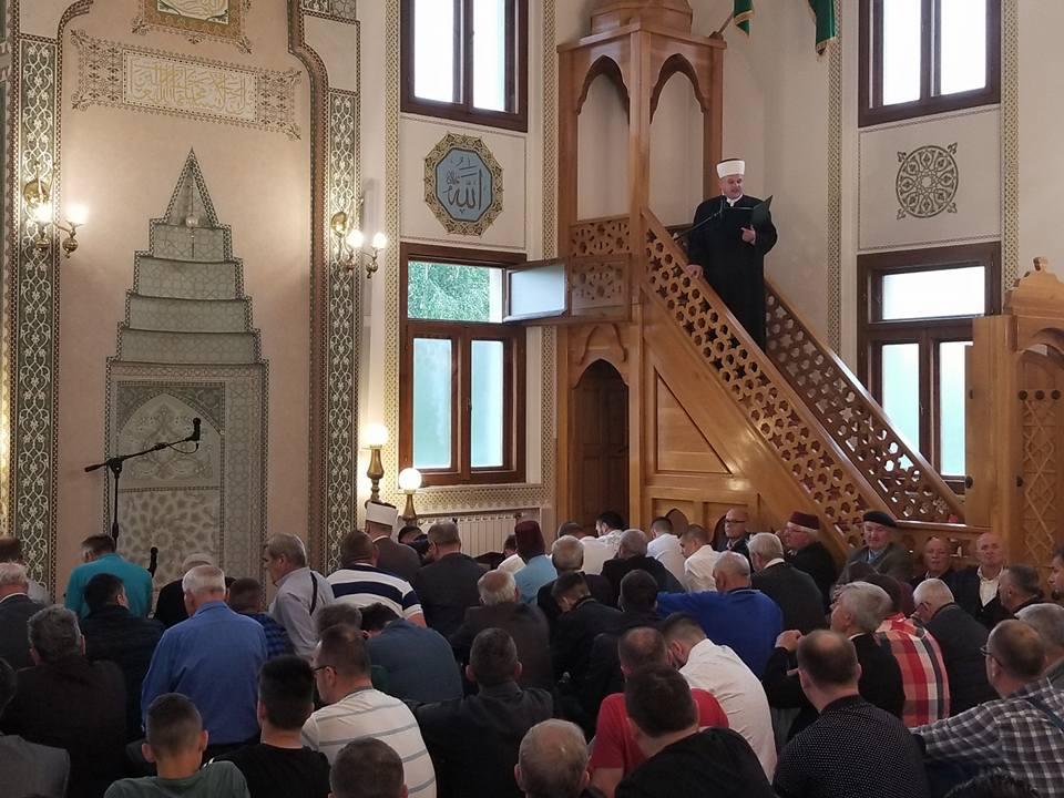 Ramazanski bajram 2018. – Sabah namaz i Bajram namaz u Sultan Sulejmanovoj Atik džamiji u Bijeljini