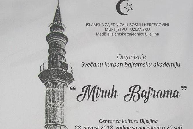 "17. Kurban-bajramska akademija ""Miruh Bajrama"""