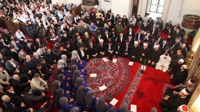 Centralni mevlud u Begovoj džamiji