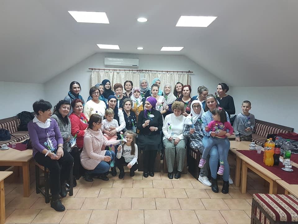 Druženje za žene u Mektepskom centru u Bijeljini
