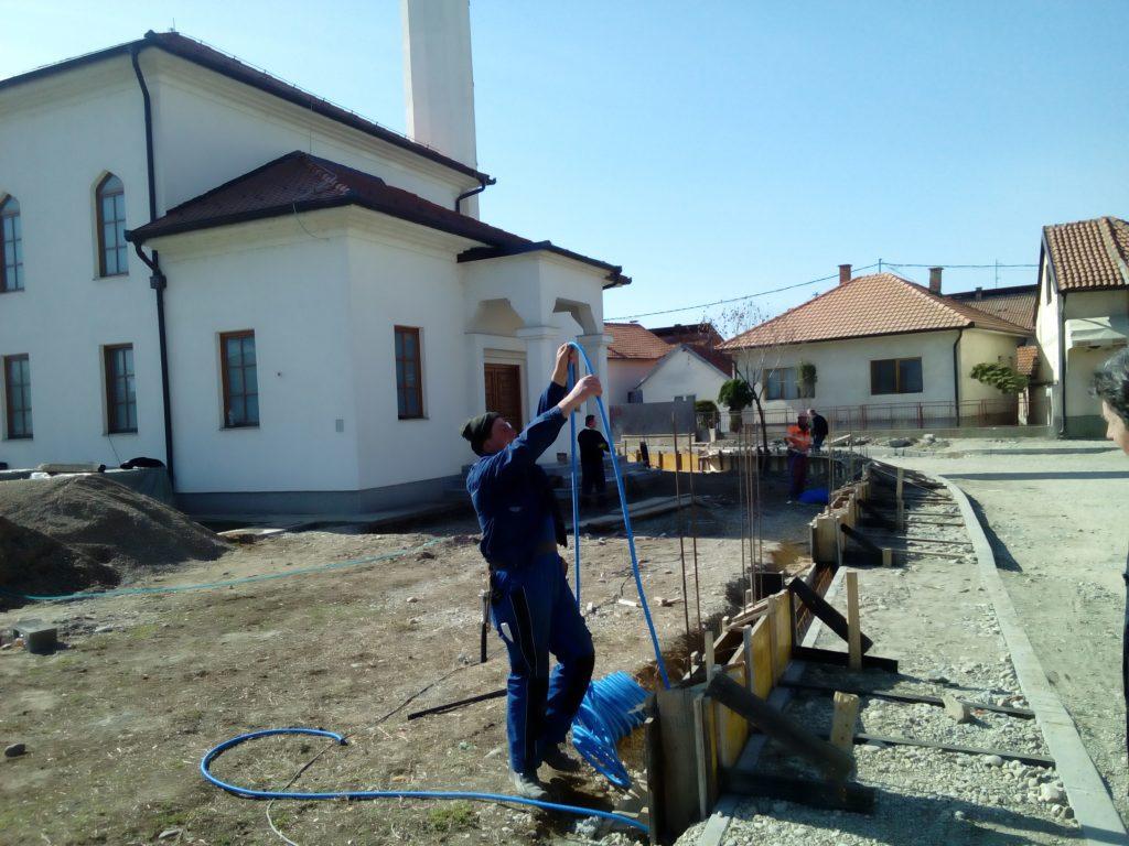 Izgradnja ograde Ahmed-age Krpića džamije