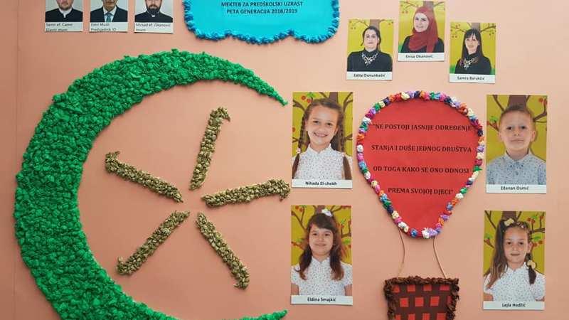 Peta generacija polaznika Mekteba za predškolski uzrast Bijeljina