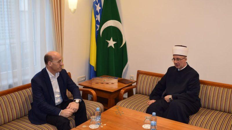 Muftija Fazlović razgovarao sa potpredsjednikom Ramizom Salkićem