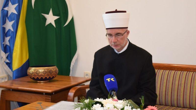 Čestitka muftije tuzlanskog Vahida-ef. Fazlovića na Kurban-bajram 1441./2020. godine