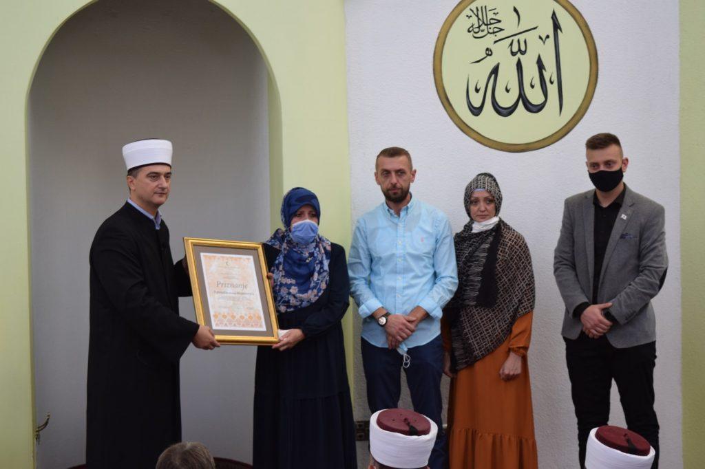 Posthumno priznanje Muftijstva tuzlanskog Fahrudin-ef. Mujanoviću